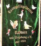 Vereinsfahne Roßwein