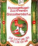 Vereinsfahne Grossolbersdorf