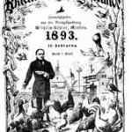 Robert Oettel mit seinem Geflügel