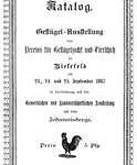 Ausstellungskatalog 1887