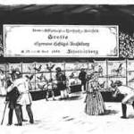 llustration zur Ausstellung 1898 auf dem Johannisberg